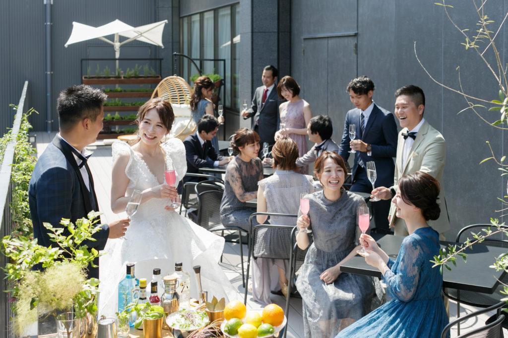 wedding scean